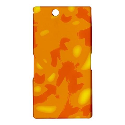 Orange decor Sony Xperia Z Ultra