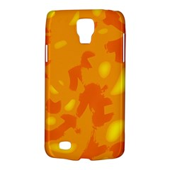 Orange decor Galaxy S4 Active