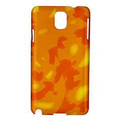 Orange decor Samsung Galaxy Note 3 N9005 Hardshell Case