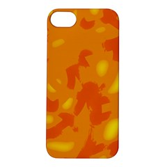 Orange Decor Apple Iphone 5s/ Se Hardshell Case