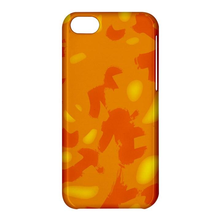 Orange decor Apple iPhone 5C Hardshell Case