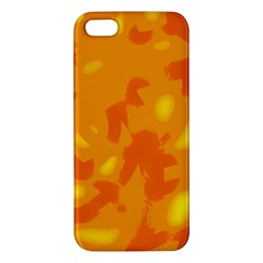 Orange Decor Iphone 5s/ Se Premium Hardshell Case