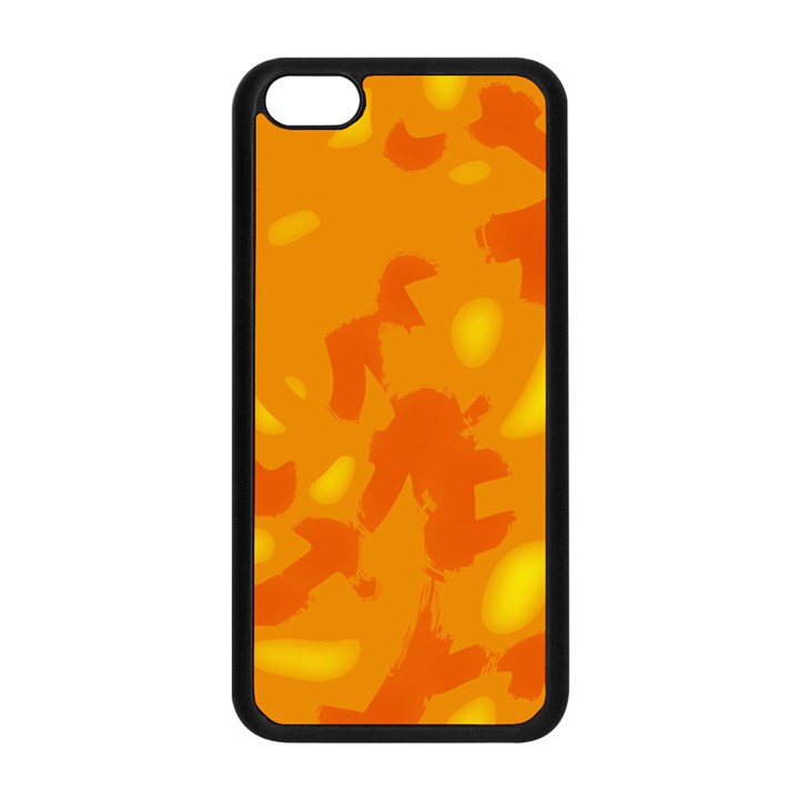 Orange decor Apple iPhone 5C Seamless Case (Black)