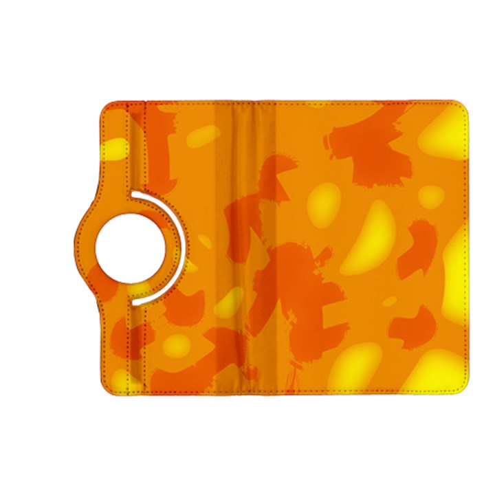 Orange decor Kindle Fire HD (2013) Flip 360 Case