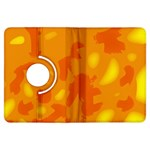 Orange decor Kindle Fire HDX Flip 360 Case Front