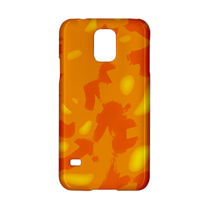 Orange decor Samsung Galaxy S5 Hardshell Case