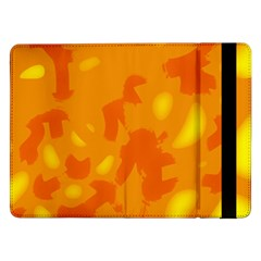 Orange Decor Samsung Galaxy Tab Pro 12 2  Flip Case