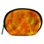 Orange decor Accessory Pouches (Medium)  Front