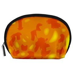Orange Decor Accessory Pouches (large)