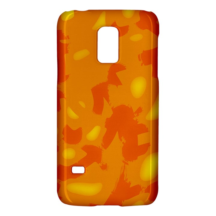 Orange decor Galaxy S5 Mini