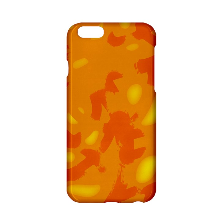 Orange decor Apple iPhone 6/6S Hardshell Case