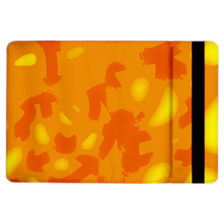 Orange decor iPad Air 2 Flip