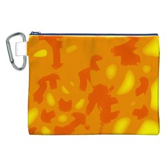 Orange decor Canvas Cosmetic Bag (XXL)