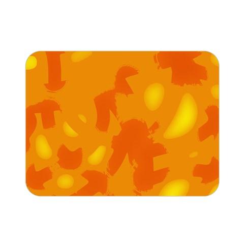 Orange decor Double Sided Flano Blanket (Mini)