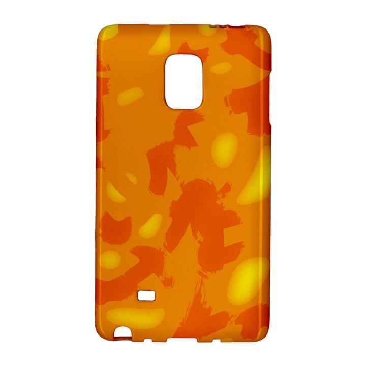 Orange decor Galaxy Note Edge