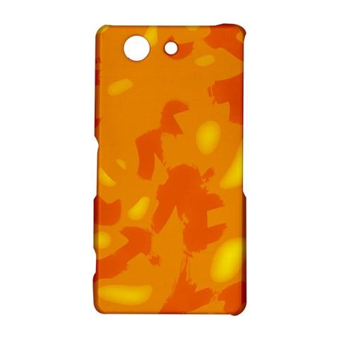 Orange decor Sony Xperia Z3 Compact