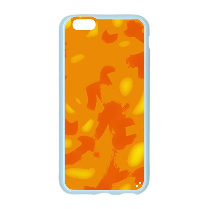 Orange decor Apple Seamless iPhone 6/6S Case (Color)