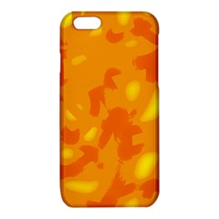 Orange decor iPhone 6/6S TPU Case