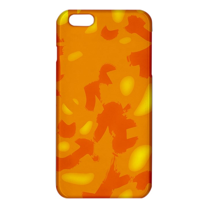 Orange decor iPhone 6 Plus/6S Plus TPU Case