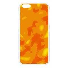 Orange decor Apple Seamless iPhone 6 Plus/6S Plus Case (Transparent)