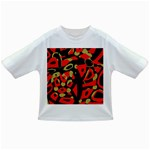 Red artistic design Infant/Toddler T-Shirts Front