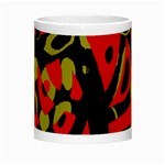 Red artistic design Night Luminous Mugs Center