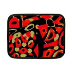 Red artistic design Netbook Case (Small)  Front