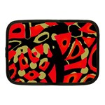 Red artistic design Netbook Case (Medium)  Front