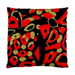 Red artistic design Standard Cushion Case (One Side) Front