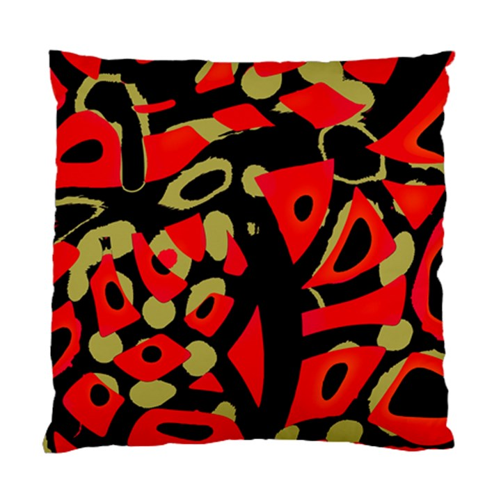 Red artistic design Standard Cushion Case (One Side)