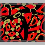 Red artistic design Canvas 24  x 20  24  x 20  x 0.875  Stretched Canvas