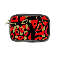 Red artistic design Coin Purse