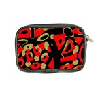 Red artistic design Coin Purse Back