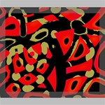 Red artistic design Deluxe Canvas 24  x 20   24  x 20  x 1.5  Stretched Canvas