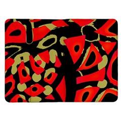 Red artistic design Kindle Fire (1st Gen) Flip Case