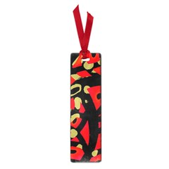 Red artistic design Small Book Marks