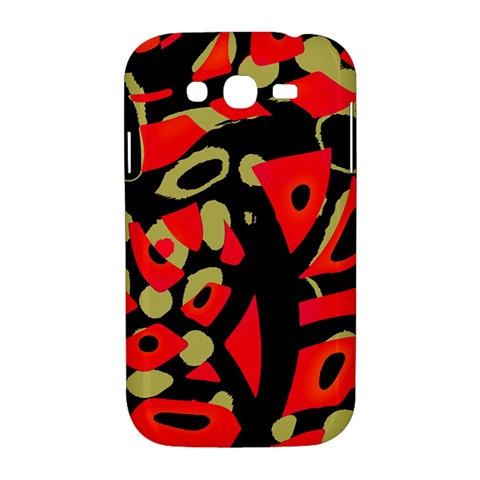 Red artistic design Samsung Galaxy Grand DUOS I9082 Hardshell Case