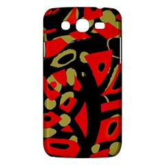 Red Artistic Design Samsung Galaxy Mega 5 8 I9152 Hardshell Case