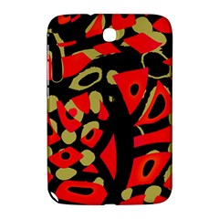Red Artistic Design Samsung Galaxy Note 8 0 N5100 Hardshell Case
