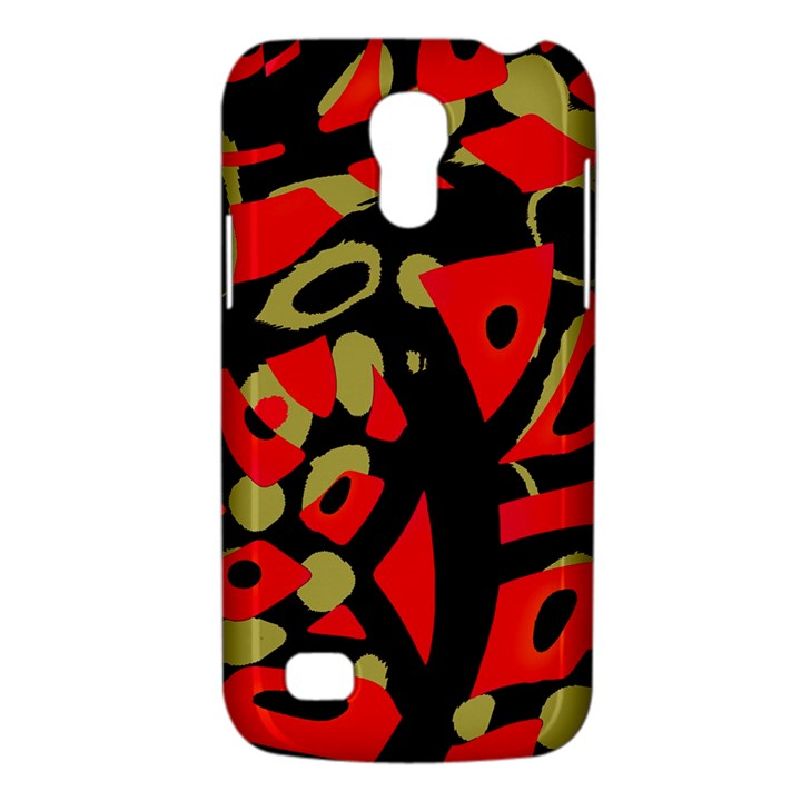 Red artistic design Galaxy S4 Mini