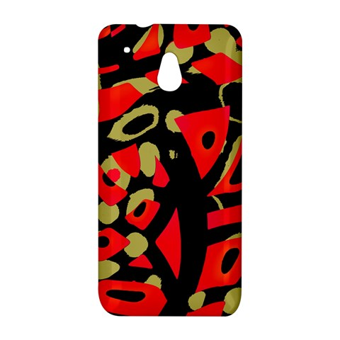 Red artistic design HTC One Mini (601e) M4 Hardshell Case