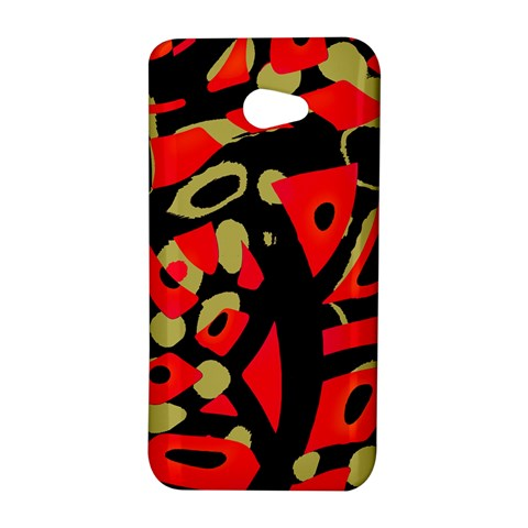 Red artistic design HTC Butterfly S/HTC 9060 Hardshell Case