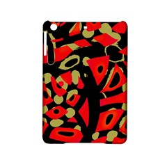 Red artistic design iPad Mini 2 Hardshell Cases