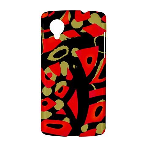 Red artistic design LG Nexus 5
