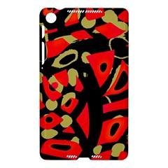 Red artistic design Nexus 7 (2013)