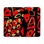Red artistic design Samsung Galaxy Tab Pro 8.4  Flip Case Front