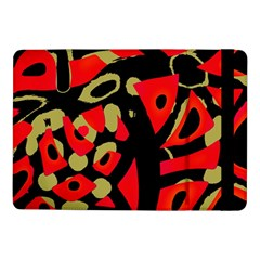 Red artistic design Samsung Galaxy Tab Pro 10.1  Flip Case