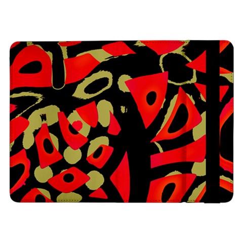 Red artistic design Samsung Galaxy Tab Pro 12.2  Flip Case