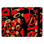 Red artistic design Samsung Galaxy Tab Pro 12.2  Flip Case Front