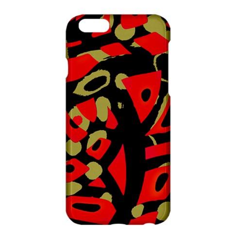 Red artistic design Apple iPhone 6 Plus/6S Plus Hardshell Case